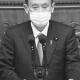 所信表明演説をする菅義偉首相