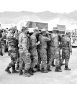 カシミールでの中印対立で犠牲になったチベット人部隊員、棺にはチベット国旗が